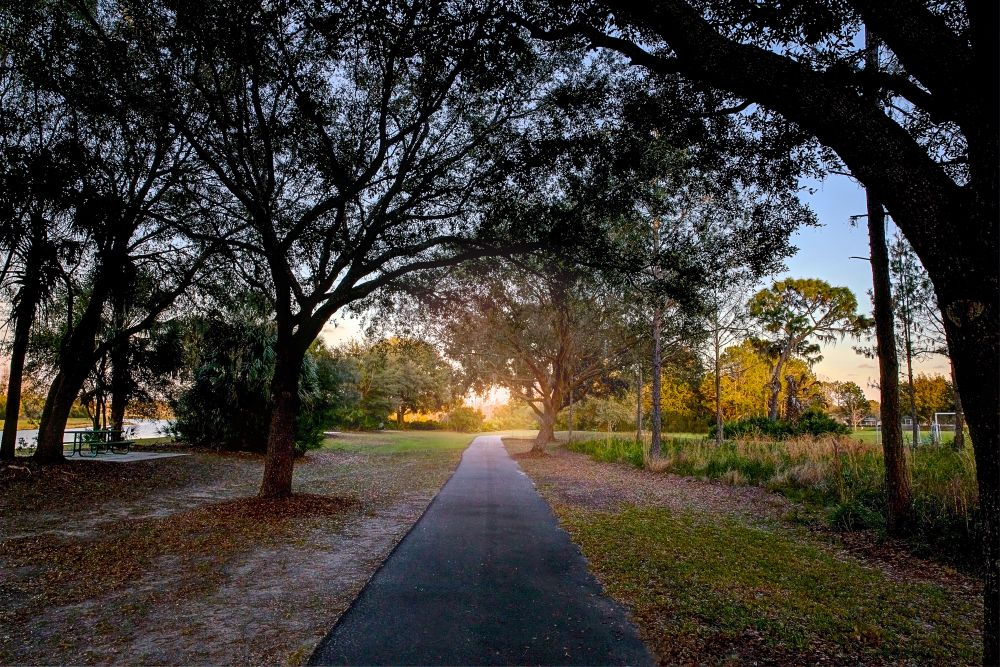 Jogging Trail at Park